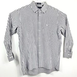 Christian Dior Men's Striped Dress Shirt 16.5 3233